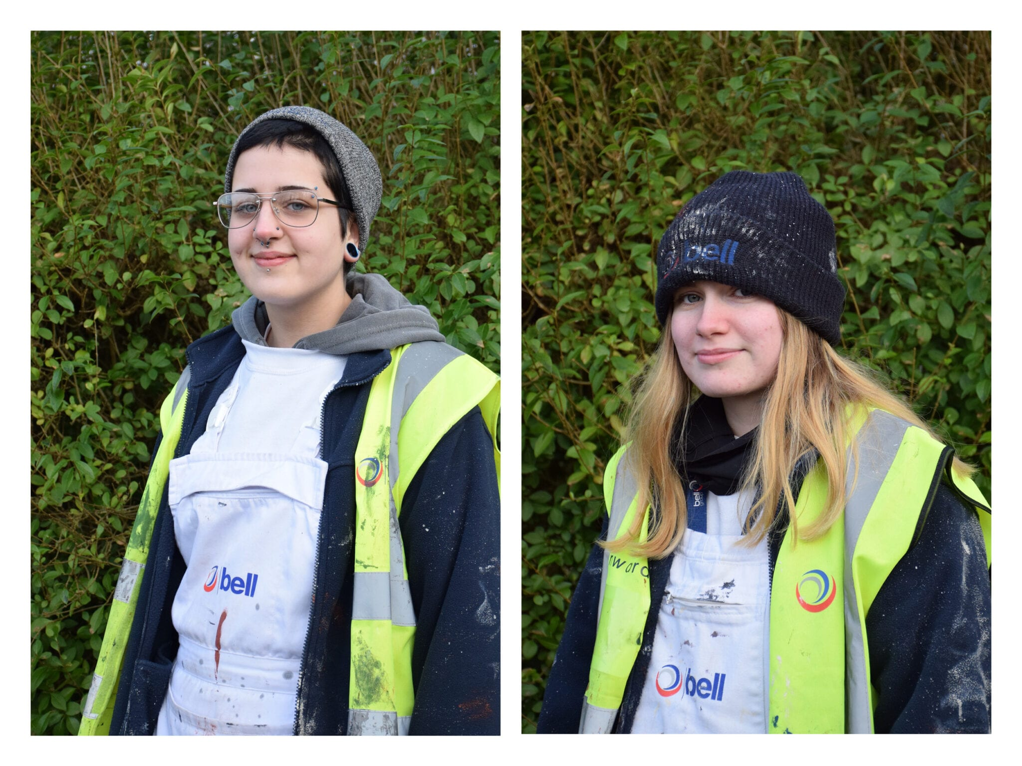 College Apprentices thriving in Painting and Decorating positions with Bell Group